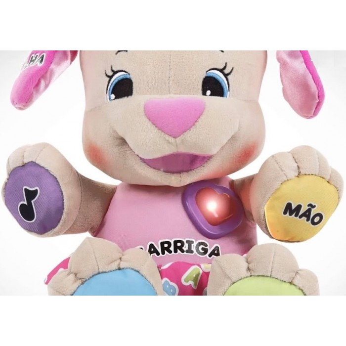 Irmã do cachorrinho Brincar e Aprender- Fisher Price